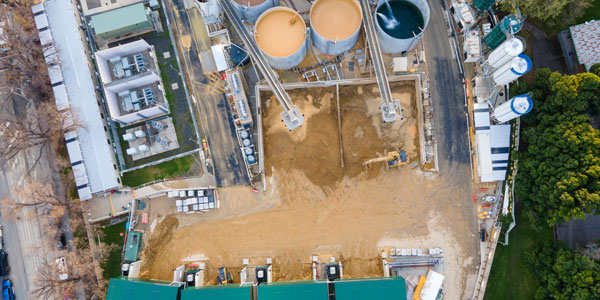 Building & Construction Drone Photography